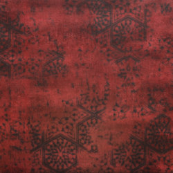 Krea Red Decore C | Carrelages | Gigacer