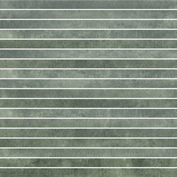 Krea Green | stripes | Ceramic tiles | Gigacer