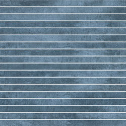 Krea Blue | stripes | Carrelage céramique | Gigacer