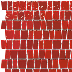 Dekostock Mosaics | Red Snake | Mosaïques verre | Dune Cerámica