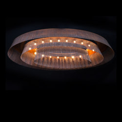 Elliptical 3-Tier - 1600 - ceiling mounted | Lámparas de araña | Willowlamp