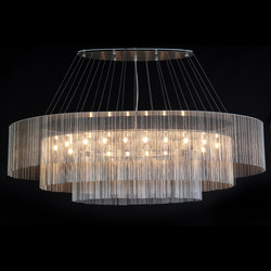 Elliptical 3-Tier - 1600 -  suspended | Lighting objects | Willowlamp