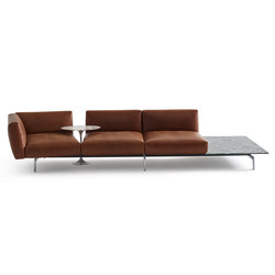 Lissoni Avio Sofa System | Canapés d'attente | Knoll International