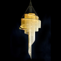 Spiral Nebula - 1000 | Suspended lights | Willowlamp