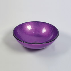 Bowl Purple | Wash basins | Dune Cerámica