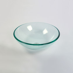 Bowl Transparent | Wash basins | Dune Cerámica