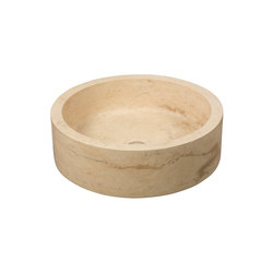 Bowl Travertine | Wash basins | Dune Cerámica