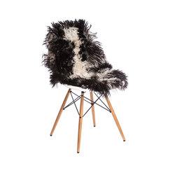 Felle - Bergschaf schwarz-weiß | Cojines para sentarse | Manufakturplus