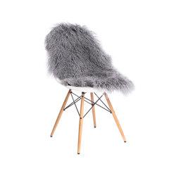 Felle - Tibetfell grau | Coussins d'assise | Manufakturplus