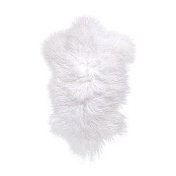 Felle | Tibetfell weiß | Seat cushions | Manufakturplus