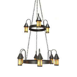 Algonquin Chandelier | General lighting | 2nd Ave Lighting