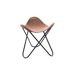 Hardoy | Stool Vintage Leather | Tabourets | Manufakturplus