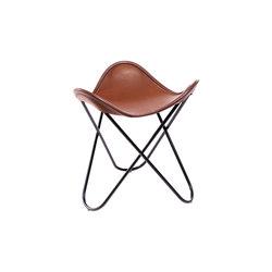 Hardoy | Stool Sleek Leather | Tabourets | Manufakturplus