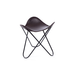 Hardoy | Stool Sleek Leather | Stools | Manufakturplus