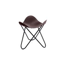 Hocker Sattel-Leder Natur Maron | Stools | Manufakturplus