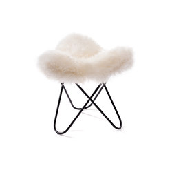 Hardoy | Stool Sheepskin | Stools | Manufakturplus