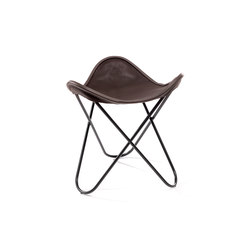 Hardoy | Stool Neck Leather | Tabourets | Manufakturplus