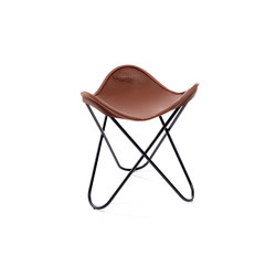 Hocker Neck-Leder Coffee | Sgabelli | Manufakturplus