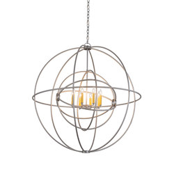 Atom Enerjisi 8 LT Chandelier | General lighting | 2nd Ave Lighting
