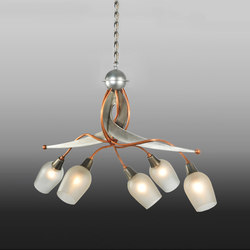 Ballerina 5 LT Chandelier | Iluminación general | 2nd Ave Lighting