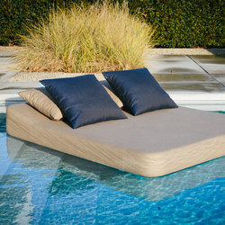 Jackie | floating lounger twin | Méridiennes de jardin | Mr Blue Sky