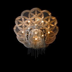 Flower of Life - 700 - ceiling mounted | Ceiling-mounted lights | Willowlamp