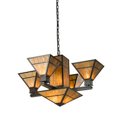 Bryce 6 LT Chandelier | Iluminación general | 2nd Ave Lighting