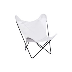 Hardoy Butterfly Chair Acryl Weiß | Garden armchairs | Manufakturplus
