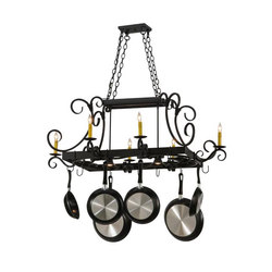 Caiden 6 LT Pot Rack | Éclairage général | 2nd Ave Lighting