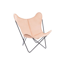 Hardoy Butterfly Chair Biobüffel Natur | Lounge chairs | Manufakturplus