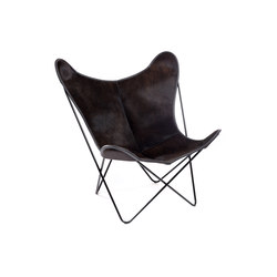 Hardoy Butterfly Chair Kuhfell Braun | Lounge chairs | Manufakturplus