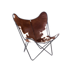 Hardoy | Butterfly Chair | Cowskin | Fauteuils | Manufakturplus