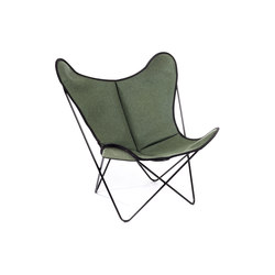 Hardoy Butterfly Chair Loden Forstgrün | Lounge chairs | Manufakturplus