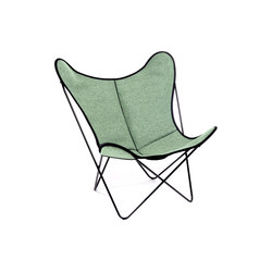 Hardoy Butterfly Chair Loden Mehler-Beige | Lounge chairs | Manufakturplus