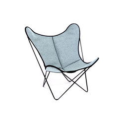 Hardoy Butterfly Chair Loden Mehler-Blau | Lounge chairs | Manufakturplus