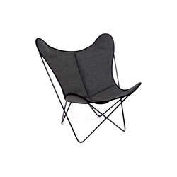 Hardoy Butterfly Chair Loden Mehler-Schwarz | Lounge chairs | Manufakturplus