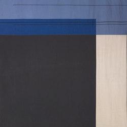 Colour Block Bedcover - Blue | Duvets / pillows | ferm LIVING