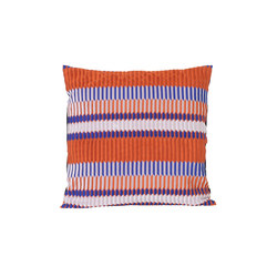 Salon Pleat Rust Cushion | Cuscini | ferm LIVING