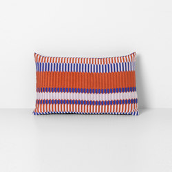 Salon Pleat Rust Cushion | Cojines | ferm LIVING