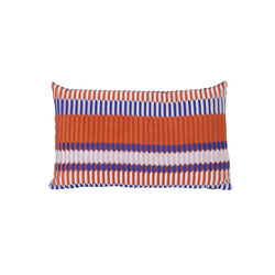 Salon Pleat Rust Cushion | Cushions | ferm LIVING