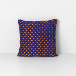 Salon Mosaic Blue Cushion | Coussins | ferm LIVING