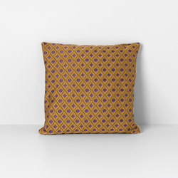 Salon Mosaic Curry Cushion | Coussins | ferm LIVING