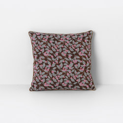 Salon Flower Rust Cushion | Coussins | ferm LIVING