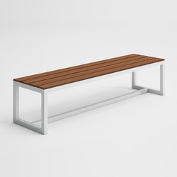 Saler Soft Teak Bench | Garden benches | GANDIABLASCO