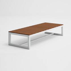 Saler Soft Teck Table Basse | Tables basses de jardin | GANDIABLASCO
