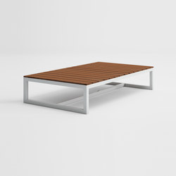 Saler Soft Teak Low Table | Coffee tables | GANDIABLASCO