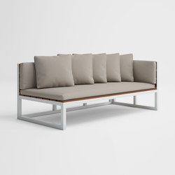 Saler Teak Sectional Sofa 1 | Sofas | GANDIABLASCO