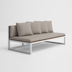 Saler Teak Sectional Sofa 4 | Sofas | GANDIABLASCO