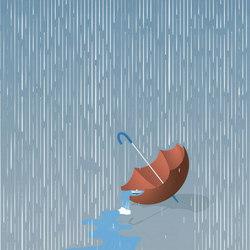 Rainfall | Wandbeläge / Tapeten | LONDONART