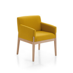 Stand By Armchair | Visitors chairs / Side chairs | Emmegi